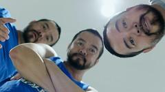 Maybe it's time we try something new. (ys.khoo) Tags: twin face portrait man beardmen beard indoor lighting photography yskhoo creative creativephotography cooltone flickrunitedaward