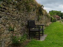 Loseley House and Grounds E6220380_110 (tony.rummery) Tags: england stilllife gardens bench unitedkingdom olympus gb statelyhome godalming omd loseley historichouse em10 mft microfourthirds boroughofguildford