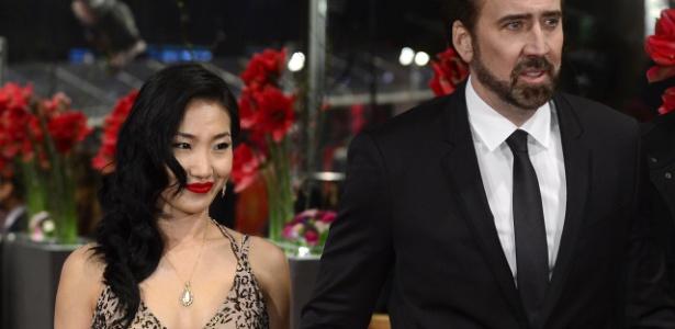 Nicolas Cage se separa da mulher após 11 anos de casamento