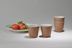 Tea-Bowl-white-brown-014 (cdkceramic) Tags: brown white ceramic teabowl   cdkceramic