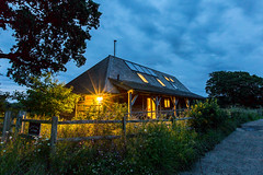Withyfield Cottage - Horsham (AliceWilliamsPhotography) Tags: longexposure flowers trees england sky cloud house photoshop canon lens photography sussex countryside photo long exposure photographer cottage nighttime adobe horsham 6d 1635mm