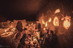 Hennocque Quarry Lunch (BobMercury) Tags: light architecture quarry urbex