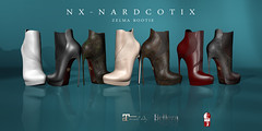 NX-Nardcotix Zelma Bootie (Nardcotix) Tags: old sexy modern female grunge badass apocalypse killer heel stiletto bootie nardyarousselot nxnardcotix nardzie