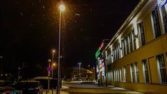Zielona Gra (nightmareck) Tags: winter night europa europe poland polska cybershot handheld zima carlzeiss zielonagra compactdigitalcamera lubuskie 28100mm fotografianocna dscrx100 sonyrx100 1inchsensor variosonnartf18