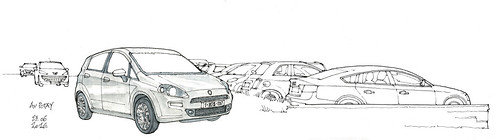 some cars (gerard michel) Tags: auto car sketch croquis