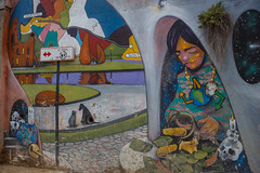 Cerro Alegre (silkylemur) Tags: chile street canon lens zoom streetphotography murals cerro fullframe alegre valparaso canoneos ef valpo canoneflens cerroalegre canonlens canonef2880mmf3556ii regindevalparaso  efmount canonef2880mm basiclens strasenfotografie canoneos6d
