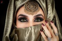 Portrait (Jamsheed Photography) Tags: model persian irani fashion makeup portrait women lady scarf covered eyelash