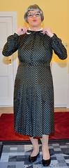 Ingrid022423 (ingrid_bach61) Tags: dress mature kleid pleatedskirt faltenrock