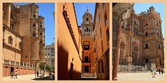 Autour de la Cathedral de la Encarnacion, Malaga, Andalucia, Espana (claude lina) Tags: claudelina espana spain espagne andalucia andalousie malaga ville town architecture cathedraldelaencarnacion cathdrale