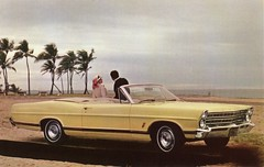 1967 Ford 500XL Convertible (aldenjewell) Tags: ford postcard convertible 1967 500xl