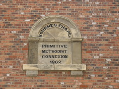 """Primitive Methodist Chapel - Foundation Stone • <a style=""""font-size:0.8em;"""" href=""""http://www.flickr.com/photos/124804883@N07/16326363404/"""" target=""""_blank"""">View on Flickr</a>"""