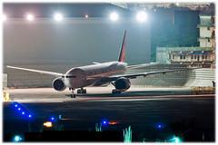 Air India 777-337ER (Star Alliance Livery) (TheFlyingJunkie) Tags: longexposure india nikon aviation bombay boeing nikkor bom mumbai airindia planespotting boeing777 staralliance 777300er avgeek nikond90 vabb vtalj nikkor70200f4