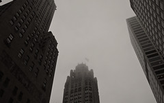 Chicago, 2015 (gregorywass) Tags: city chicago tower weather fog architecture buildings downtown michigan windy avenue tribune