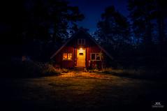 Nighttime at swedish cabin at Fjärdlång, Stockholm (Sweden) (Tommie Hansen) Tags: sea summer house nature landscape island scenery sweden stockholm archipelago ö stockholmarchipelago fjärdlång swedisharchipelago swedishhouse stockholmskärgård stockholmslän swedishlandscape swedisharchitecture tommiehansen