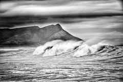insignificant wave on an insignificant little blue-green planet (paddy_bb) Tags: travel sea sky cloud seascape water southafrica coast kleinmond 2015 nikond5300 paddybb