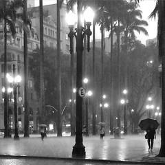 Ending summer. (*Ολύμπιος*) Tags: summer rain lluvia estate sãopaulo chuva sé verão pioggia praçadasé