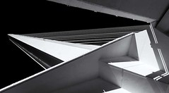 Alamillo 2 (DS-FL) Tags: bridge blackandwhite españa abstract black lines architecture puente sevilla europa europe andalucia ponte espana astratto architettura santiagocalatrava biancoenero alamillo blacksky