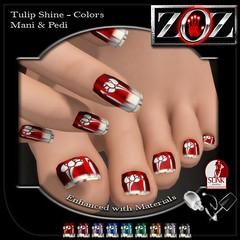 -{ZOZ}- Tulip Shine Colors pix (Zoz icon) Tags: cosmopolitan polish mani manicure pedicure zoz pedi slink applier zozicon {zoz}
