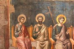 Italy - Roma, S.Cecilia in Trastevere (dario lorenzetti) Tags: italy roma church trastevere chiesa fresco affresco giudiziouniversale scecilia pcavallini