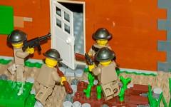 Ortona:  Canadian POV (SEdmison) Tags: italy oregon portland lego wwii battle canadian worldwarii german convention ortona brickscascade brickscascade2015