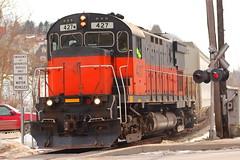 WNY&PA nice and close! (cheliman) Tags: railroad century train tracks locomotives alco wnypa