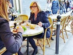 2015-04-11  Paris - Café de Paris - 10 Rue de Buci (P.K. - Paris) Tags: street people paris café french candid terrasse sidewalk april avril aprilinparis 2015