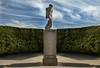 (Tau Zero) Tags: statue bluesky hedge maze digitalmirror alertonpark