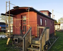 Falmouth, Kentucky (1 of 4) (Bob McGilvray Jr.) Tags: wood railroad train wooden kentucky tracks caboose business falmouth ln louisvillenashville