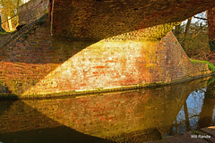 Texture,Light And Refletions (williamrandle) Tags: uk bridge light england sunlight texture water reflections canal spring shadows bricks worcestershire kidderminster nkon 2015 d7100 sigma1835f18art
