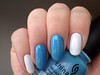 chanel Eastern Light + china glaze Bahamian Escape (rittkin) Tags: blue white nail cream polish creme nails manicure nailpolish chanel lightblue chinaglaze