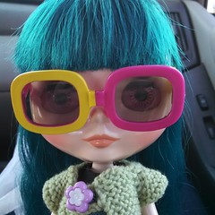 Oren got herself some new shades today too