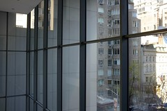 MoMA (h4mster) Tags: nyc newyorkcity building art glass museum architecture pattern contemporaryart modernart shapes indoor moma fujifilm x100s