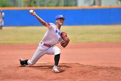 _DSC0413 (Manjhou) Tags: up sport set nikon baseball sigma kaohsiung pitcher position batter 70200mm   pickoff   tainwan         d7200
