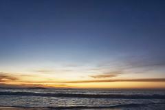 Day's End (FlavioSarescia) Tags: ocean africa travel sunset sea sky sun sunlight seascape beach nature sunshine clouds landscape coast colours none capetown campsbay hss tranquill