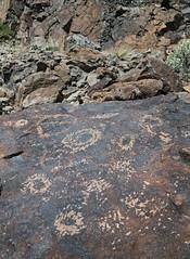 Petroglyphs / Blackrock Well Site (Ron Wolf) Tags: california archaeology circle nationalpark nativeamerican salinevalley petroglyph anthropology shoshone rockart concentriccircles deathvalleynationalpark piute numic bisectedcircle