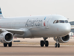 N144AN (shattuckb02) Tags: usa plane airplane fly flying airport texas tx taxi aircraft aviation air flight jet 321 american airbus dfw airlines americanairlines runway pilot aa jetplane iae aal jetliner taxiway a321 kdfw narrowbody sharklet