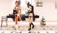 morning routine (Cassandra Middles) Tags: morning dahlia face socks panties loft cat paper bathroom tank mask little robe top bra lingerie cassie mai briefs bow bones lamb blah tres arrow ba dust cp ikon cosmic tarte slipper quirky tb aria madoka fri fd erratic maitreya essences middles kalopsia bilavio
