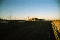 Stammerdijk, Diemen, NH (Jickatrap) Tags: film analog 35mm pentax infrastructure   diemen  pentaxmz50 filmphotography    newtopographics     cinestill photographersontumblr cinestill50
