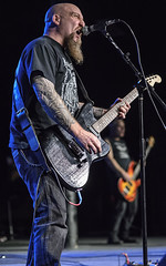 Steve Von Till (acase1968) Tags: metal tattoo oregon portland photography concert nikon theater theatre f14 live 85mm sigma roseland neurosis d600