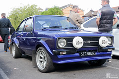 Ford Escort RS 2000 | SEC 583R (Jgalea14) Tags: blue black ford car canon automobile 2000 outdoor sunday may engine lancashire vehicle preston mk2 motor phantom sec rs meet escort 22nd winger fulwood 100d pscm 583r sec583r
