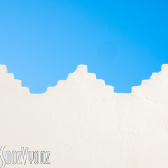 Whitewashed Wall (Sue_Hutton) Tags: wall morocco maroc whitewashed asilah
