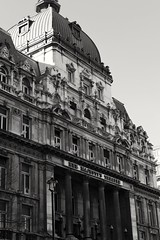 Her Majesty's Theatre (kimmilouise) Tags: city blackandwhite london westminster theatre central royal queen majesty