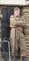 Haworth 1940's Weekend 2016 -  KV8A8913 (grab a shot) Tags: uk england people man canon vintage army eos war uniform outdoor military yorkshire wwii 1940s ww2 reenactment westyorkshire homefront worldwar2 oldfashioned haworth livinghistory 2016 homeguard warweekend brontecountry haworth1940sweekend 7dmarkii