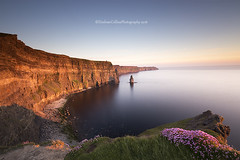 Evening Light at Cliffs of Moher (Eimhear Collins) Tags: sunset seascapes cliffsofmoher countyclare eimhearcollins