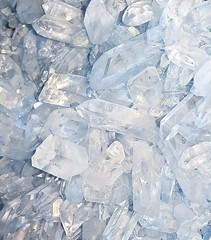 H E A L  How do you heal? How do you look after yourself?  Blue quartz crystal is a soothing, stress-relief stone. Calms the mind, inspires hope. Sounds like my kind of stone. (aptorganics) Tags: apt