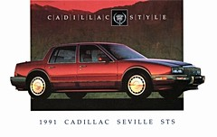 1991 Cadillac Seville STS (aldenjewell) Tags: postcard seville cadillac 1991 sts