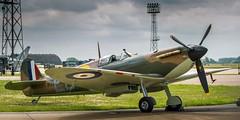 Spitfire Mk2 ~ P7350 (deltic17) Tags: plane canon fighter rollsroyce lincolnshire ww2 spitfire raf lincs nerlin p7350 bombercounty canon5dmk3