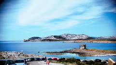 Pelosa Island (Marco Piras Photography) Tags: blue sea summer sky people tower love nature water beautiful 35mm landscape island spring nikon aqua sardinia colours colorfull calm nikkor asinara stintino d610 pelosa ishtintini