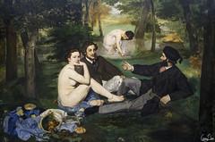 Le déjeuner sur l'herbe, Edouard Manet (Rosca75) Tags: paris musée tableau orsay femmes manet ledéjeunersurlherbe célèbre