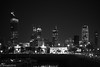 Sharq City Skyline at Night... (EHA73) Tags: leica nightphotography blackandwhite bw marina boats cityscape skyscrapers towers kuwait sharq alhamratower leicamm kipcotower aposummicronm1250asph typ246